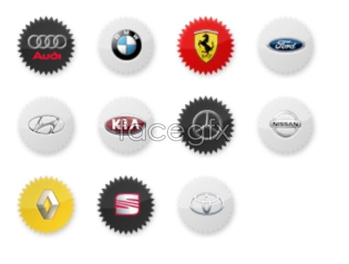 Car logo small icons