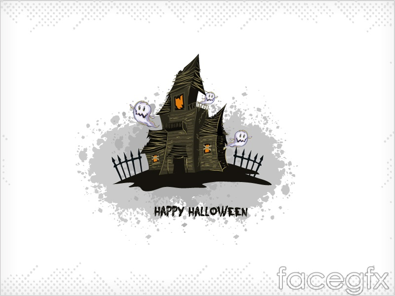 Cartoon castles vector illustration
