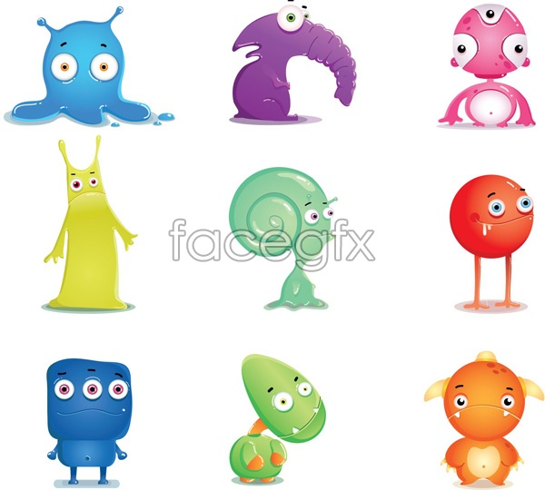 Cartoon Characters Design : Simple character design vector pixshark images