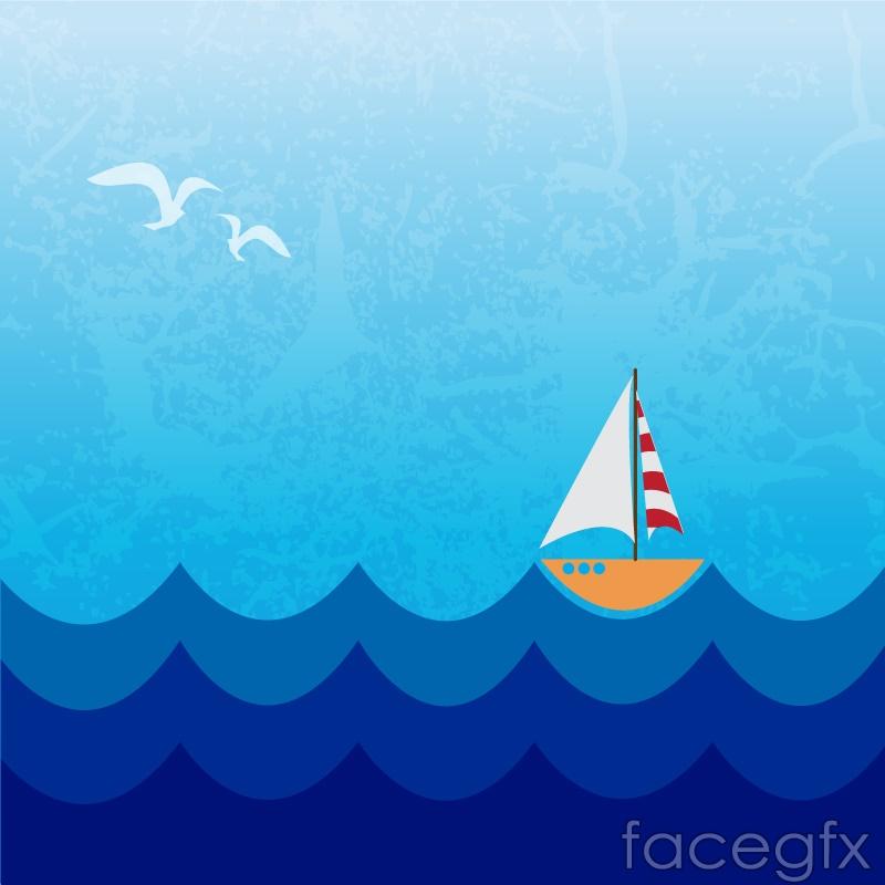 Cartoon nautical sailing background vector over millions vectors cartoon nautical sailing background vector toneelgroepblik Image collections