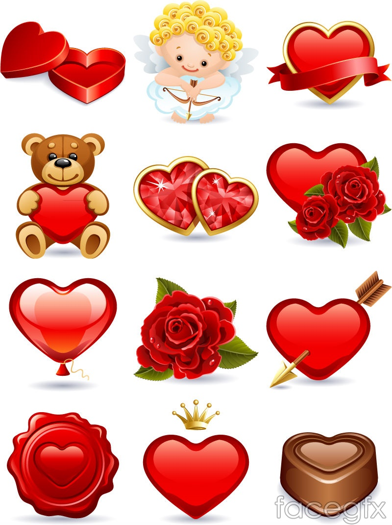 cartoon valentine u0027s day icon vector u2013 over millions vectors stock