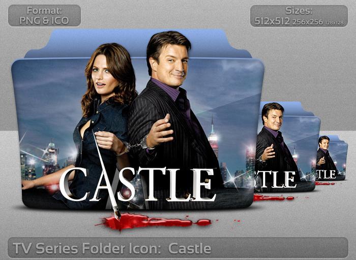 Castle tv serie folder icon – Over millions vectors, stock