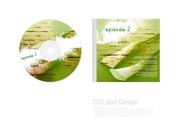 CD packaging PSD