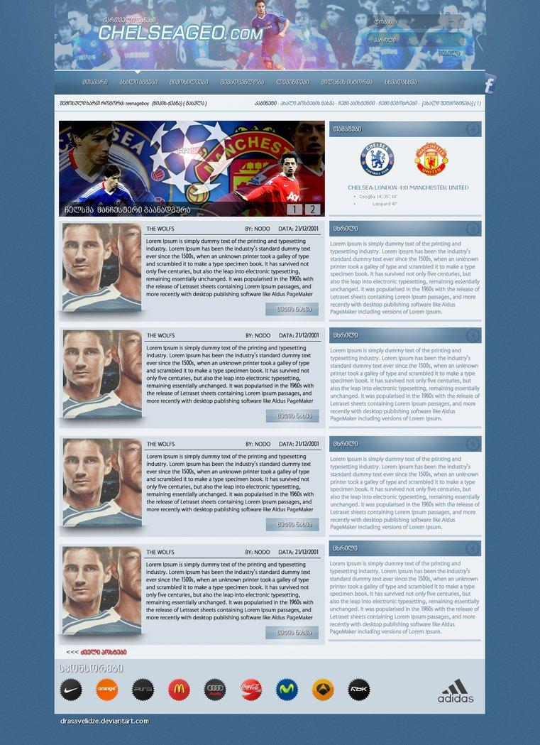 Chelsea webdesign