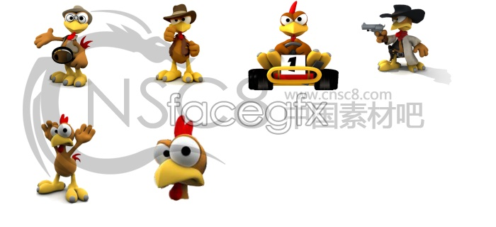 Chicken run movie icons
