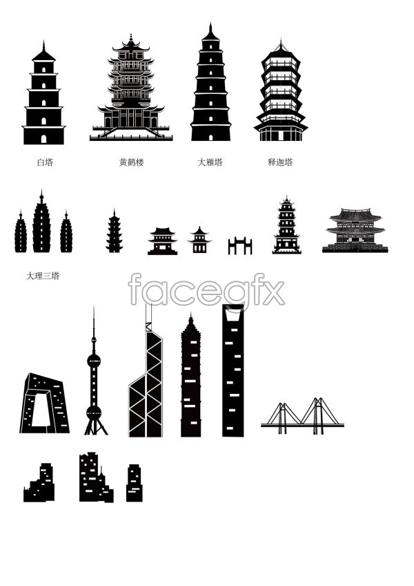 chinese architecture sketches vector over millions vectors stock