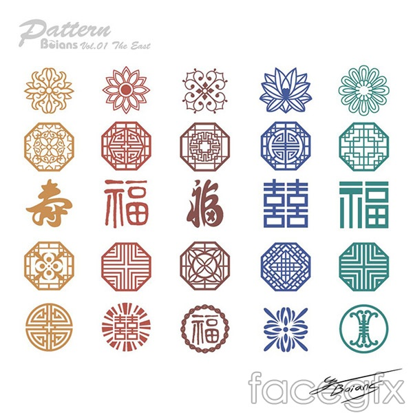 Chinese cultural pattern vector – Over millions vectors, stock