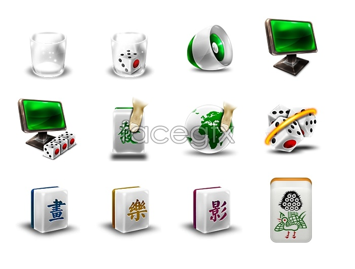 Chinese mahjong icon – Over millions vectors, stock photos
