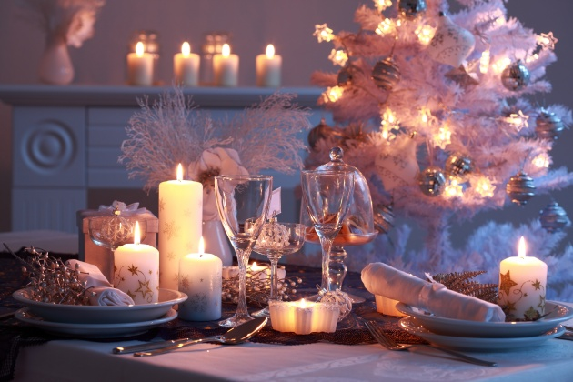 Christmas candlelight dinner pictures download