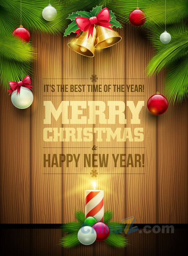 Christmas Poster Design Template Vector – Over Millions Vectors