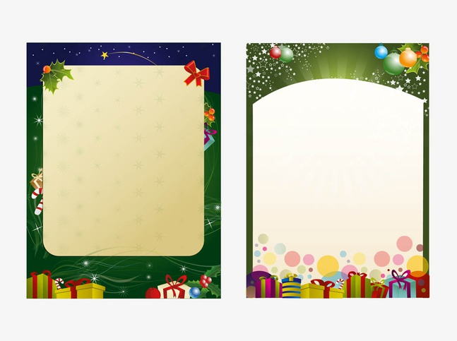 Christmas Poster Templates Vector Free  Over Millions Vectors