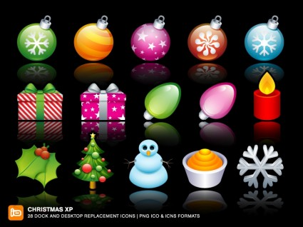 Christmas XP Icons icons pack