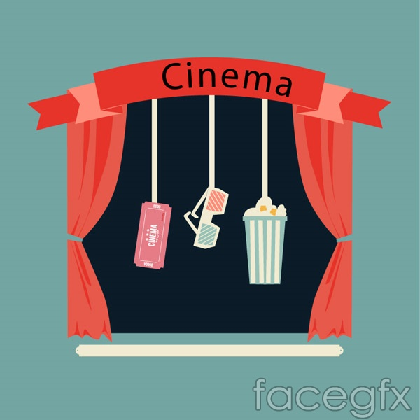 Cinema illustration vector over millions vectors stock photos hd cinema illustration vector toneelgroepblik Choice Image