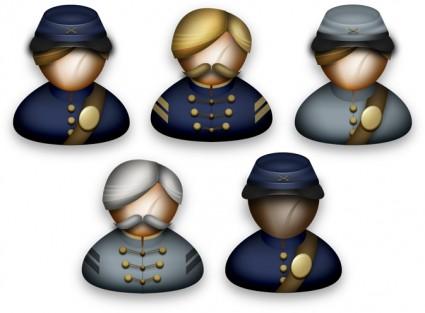 Civil War icons pack