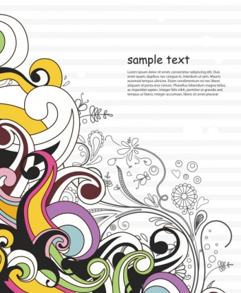 classic fashion pattern background 01 vector