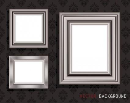classic pattern border 04 vector