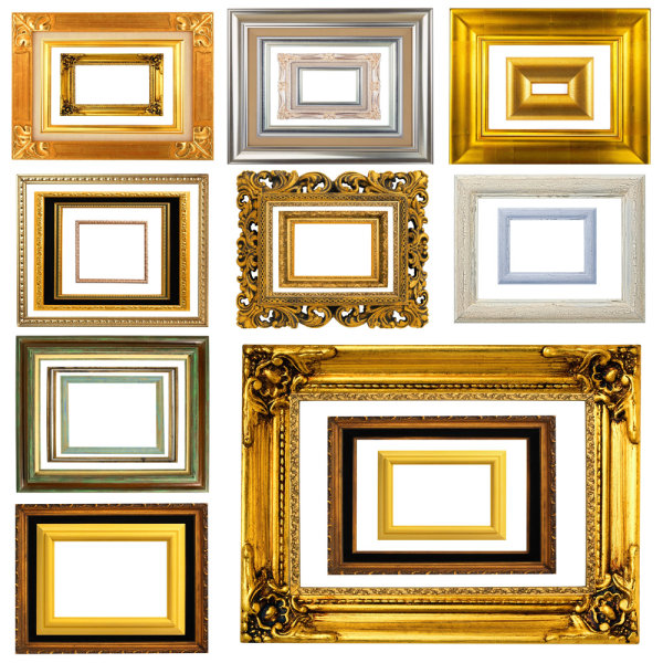 Classic photo frame 05-commercial pictures – Over millions vectors