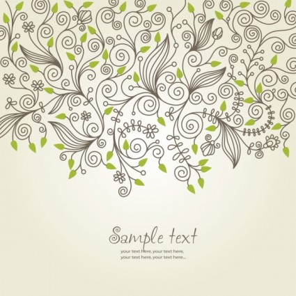 classical pattern background 04 vector