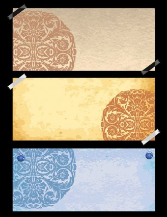 classical pattern vector with the old paper 1