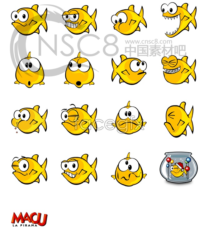 clown fish icons over millions vectors stock photos hd pictures