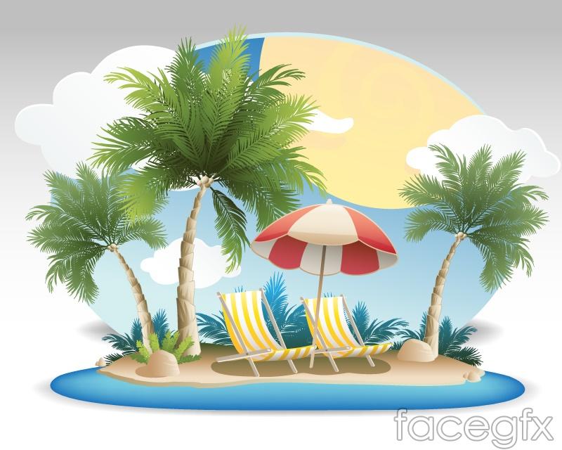 Coconut summer vacation vector background over millions vectors coconut summer vacation vector background free download toneelgroepblik Image collections