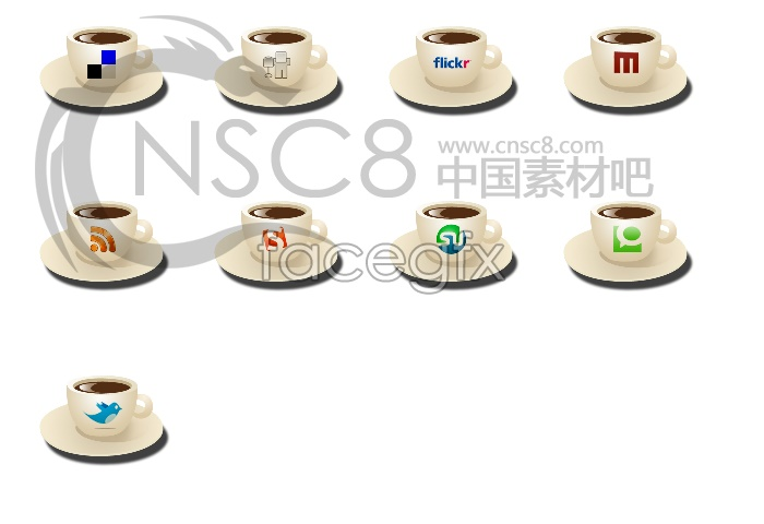 Coffee Cup desktop icons