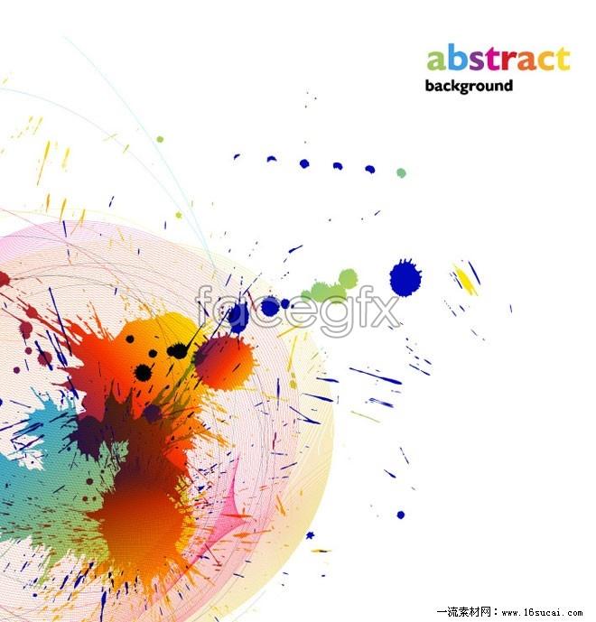 Color paint splash vector ii – Over millions vectors, stock photos