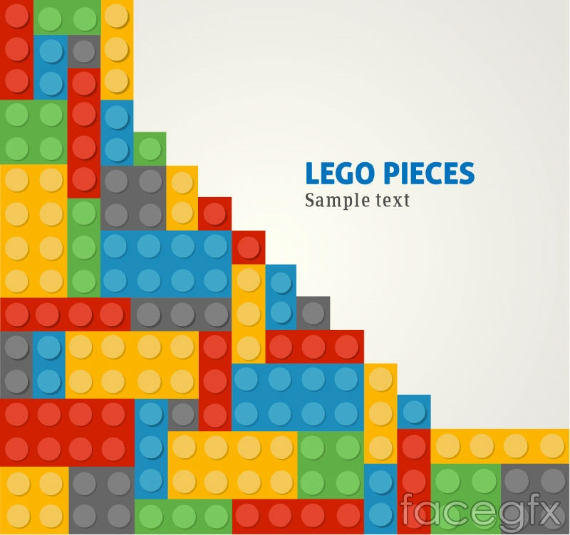Colored lego background vector – Over millions vectors