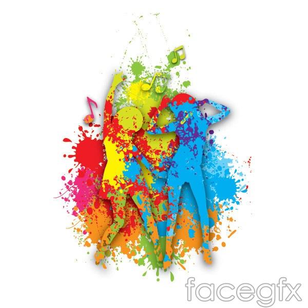 Colorful dance figures vector over millions vectors stock photos colorful dance figures vector free download toneelgroepblik Choice Image