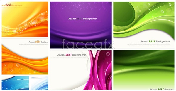 Colorful fashion background Vector