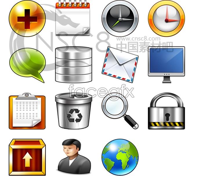 Common desktop icons