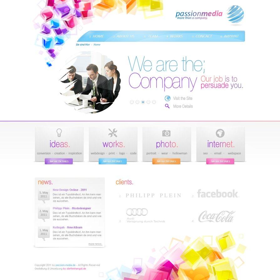 Company Design – passionmedia
