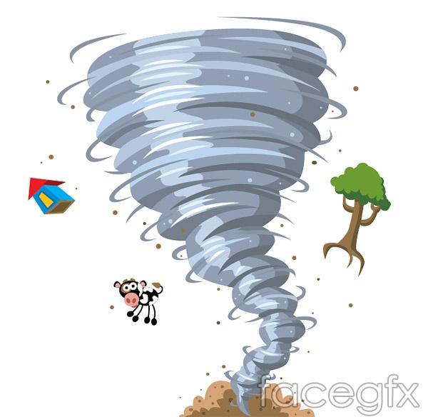 concept cartoon vector of the tornado – over millions vectors, Modern powerpoint
