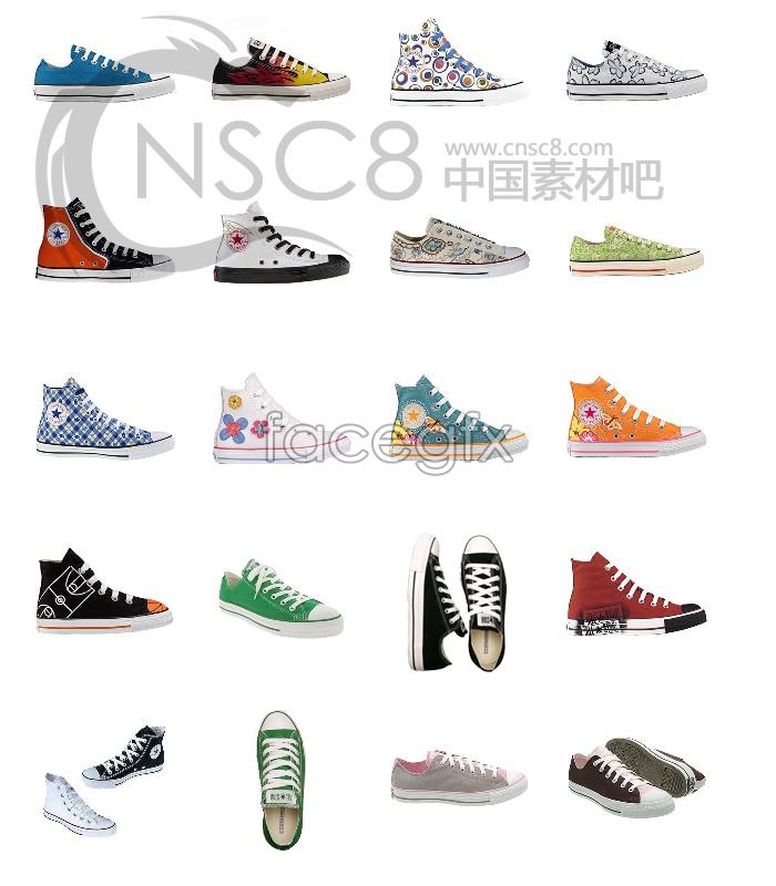 Converse shoe icons