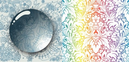 cool background pattern vector