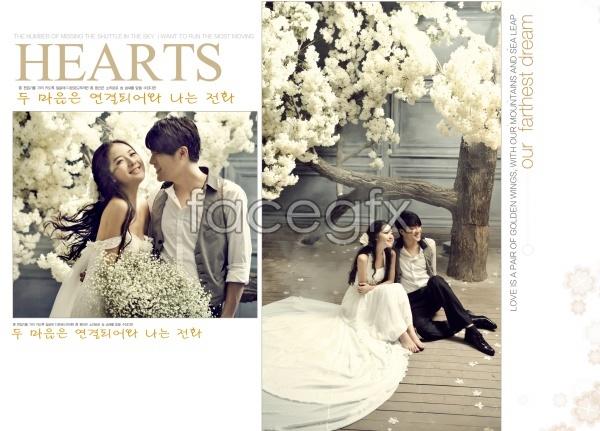 couples photo studio wedding psd template over millions vectors