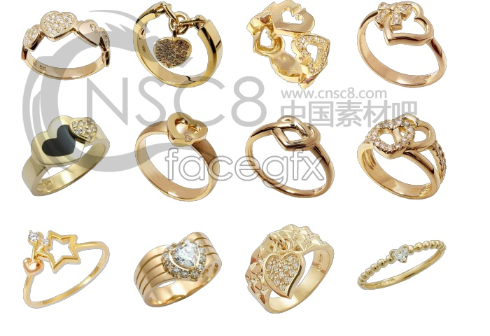 Couples ring icons
