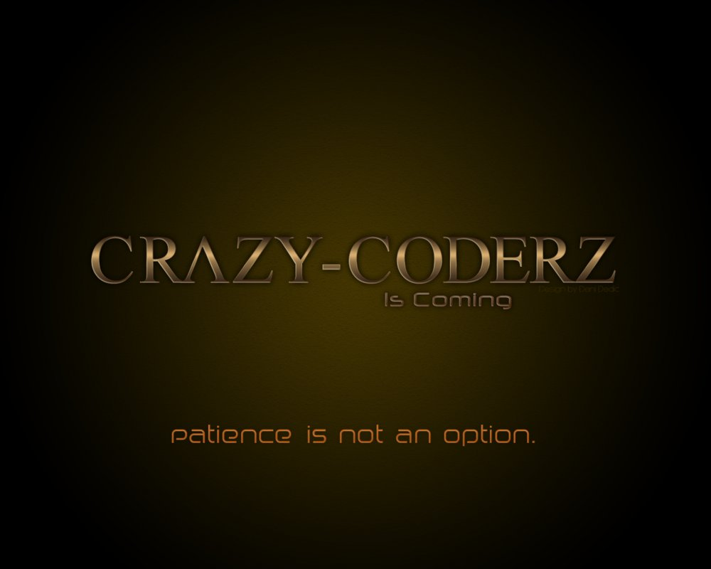 Crazy Coderz is coming back