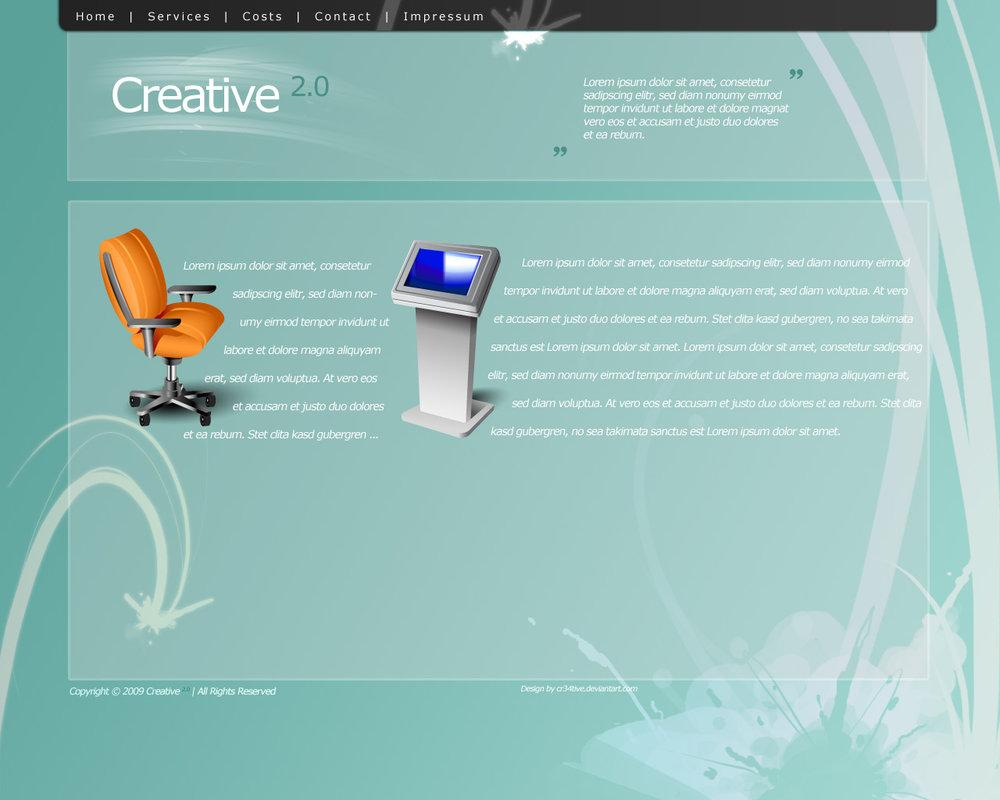 Creative 2.0 Webdesign FREE