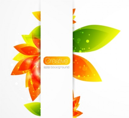 creative floral background vector 2 gorgeous