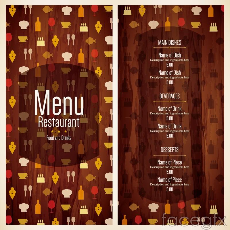 Creative Menu Design Vector Graph Over Millions Vectors Stock - Creative menu design templates