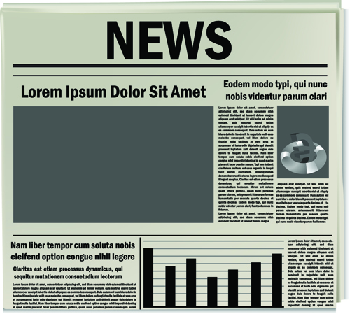 Creative Newspaper Template Idealstalist