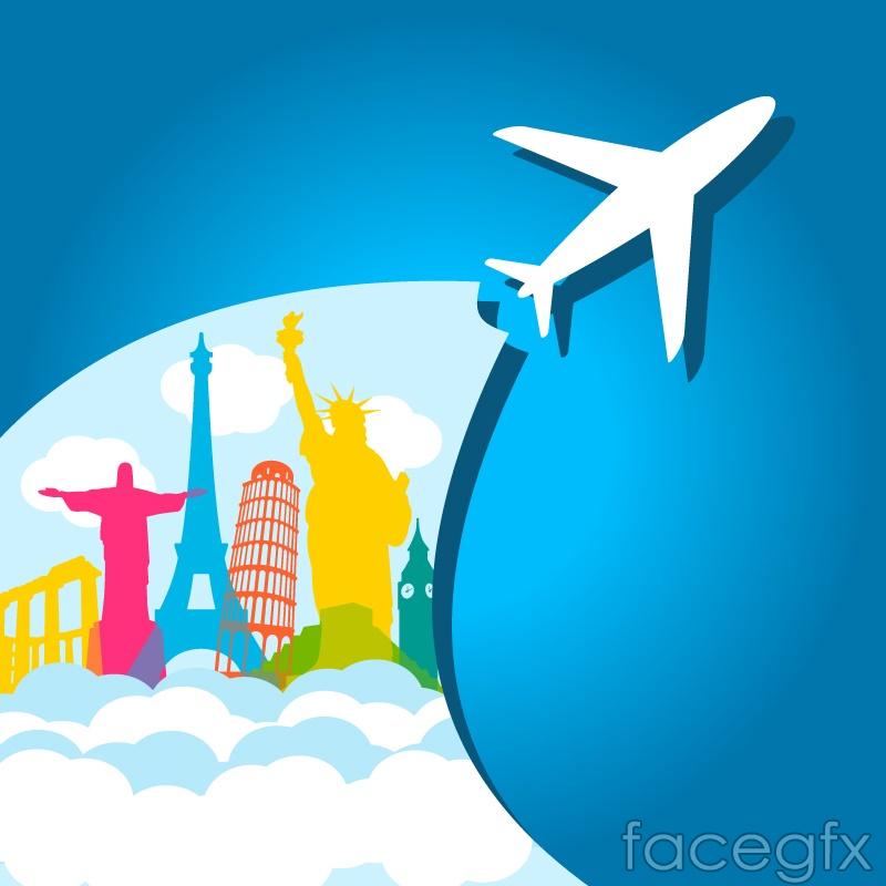 Creative travel background vector over millions vectors stock creative travel background vector toneelgroepblik Gallery