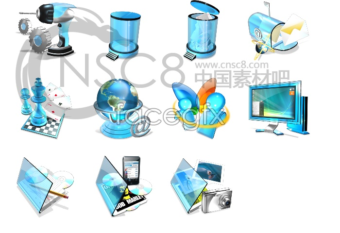 Crystal desktop icon