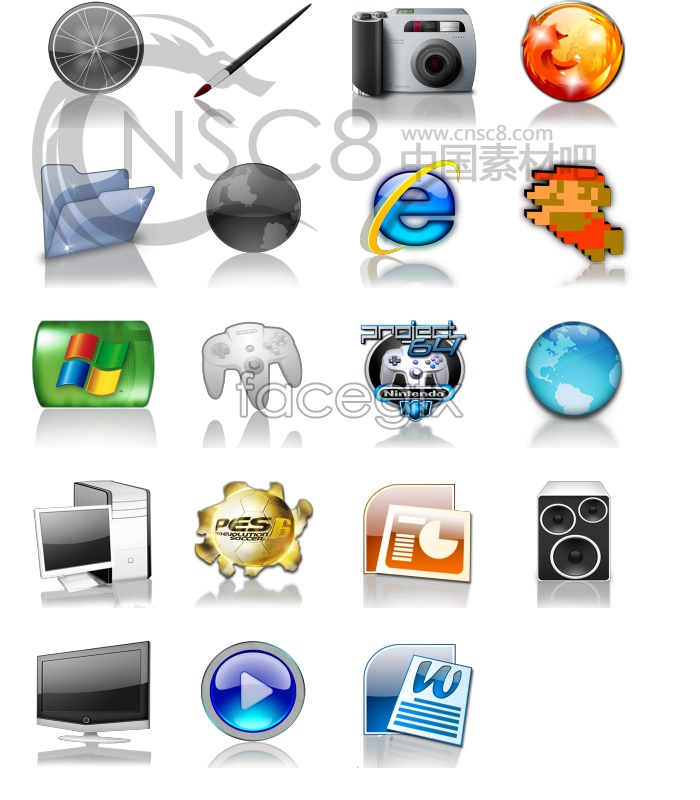 Crystal desktop icons
