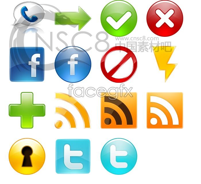 Crystal logo desktop icons