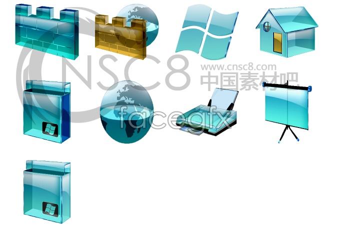 Crystal Vista icons