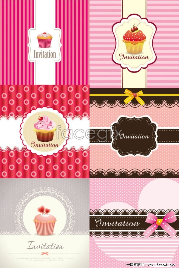 Cake Box Design Vector : Cute cake packaging design vector   Over millions vectors ...