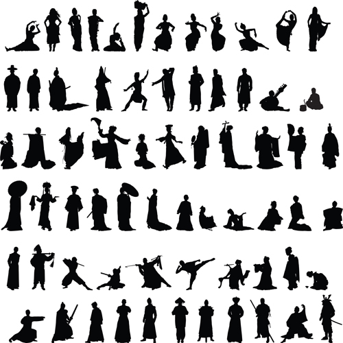 Dance and martial arts silhouettes vector graphics free over dance and martial arts silhouettes vector graphics free toneelgroepblik Image collections