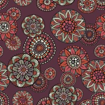 Decorative seamless pattern vector 03